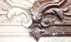 stucco ornaments, 19th century